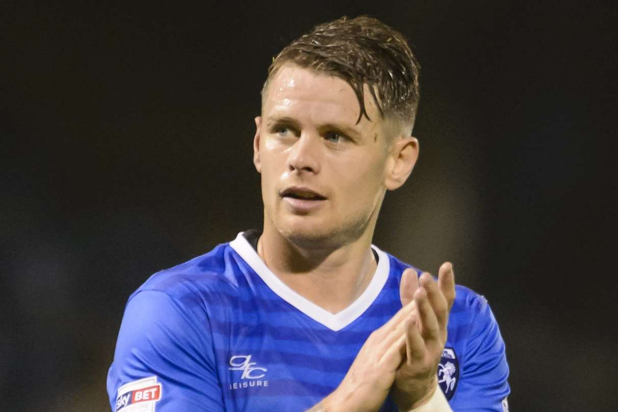Gillingham midfielder Mark Byrne Picture: Andy Payton
