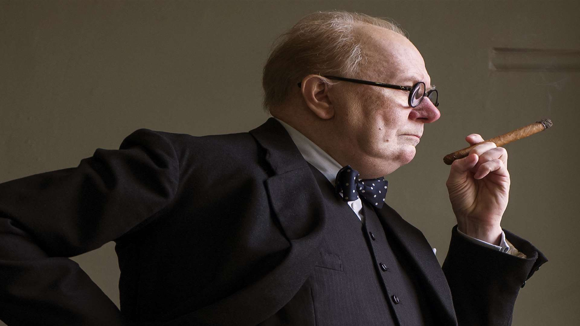 Gary Oldman as Winston Churchill in Darkest Hour Picture: PA/Universal Pictures/Focus Features LLC/ Jack Engllish