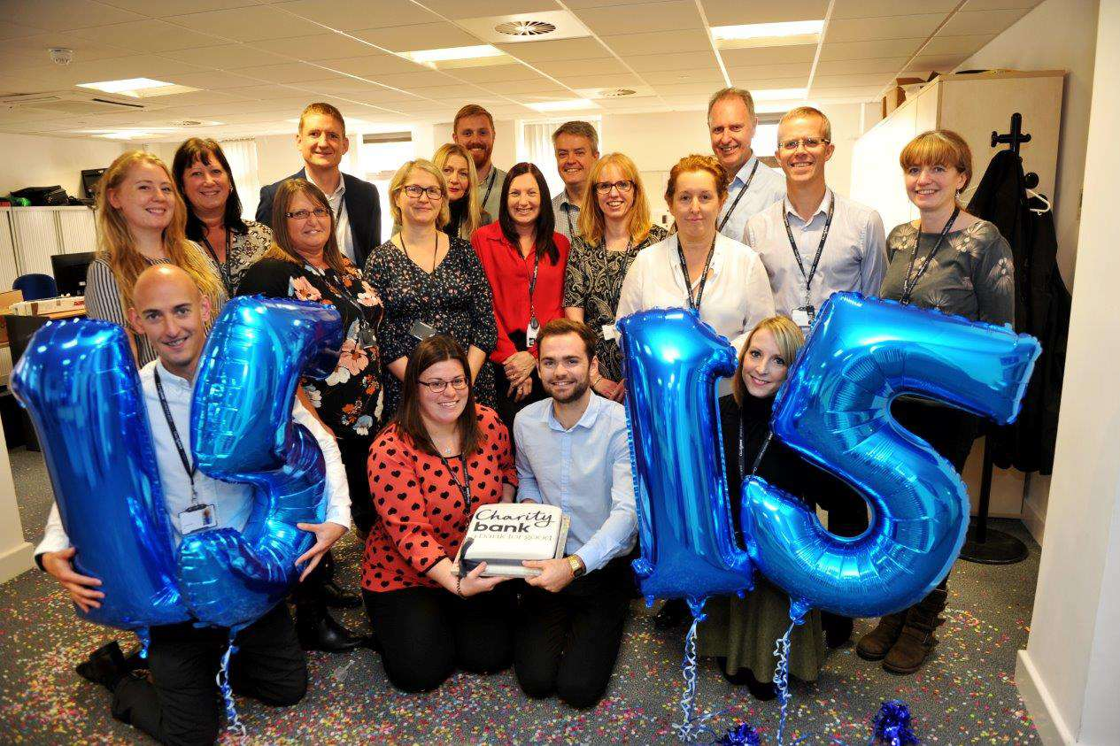 Charity Bank celebrated its 15th birthday this week