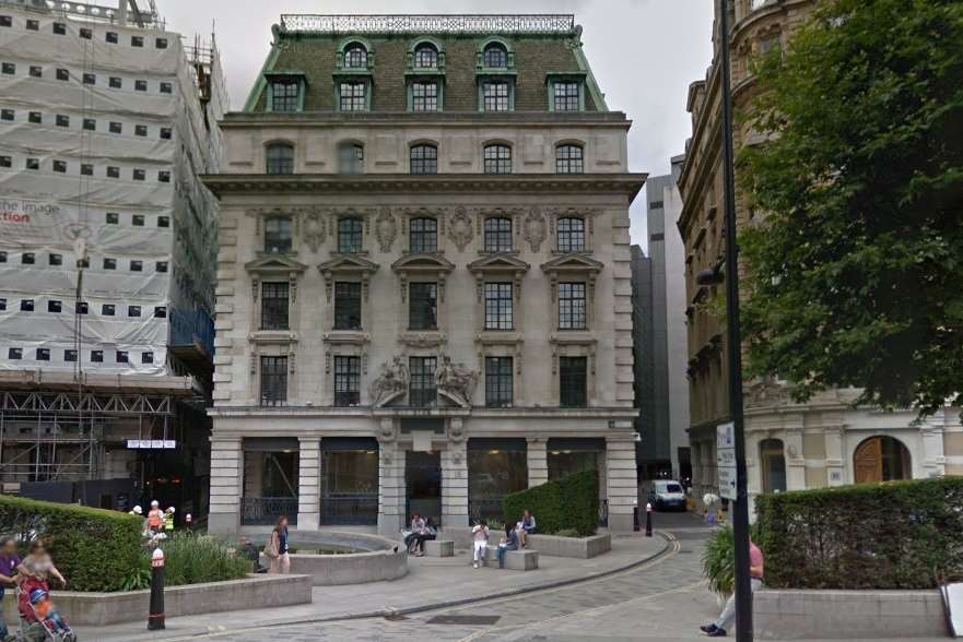 The Old Bailey in London. Picture: Google Street View