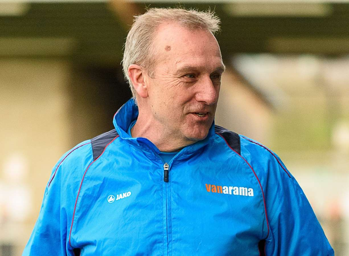 Dartford manager Tony Burman Picture: Tony Jones