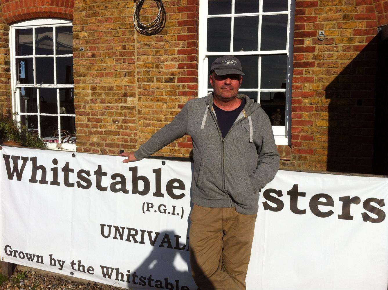 Richard Green from the Whitstable Oyster Company
