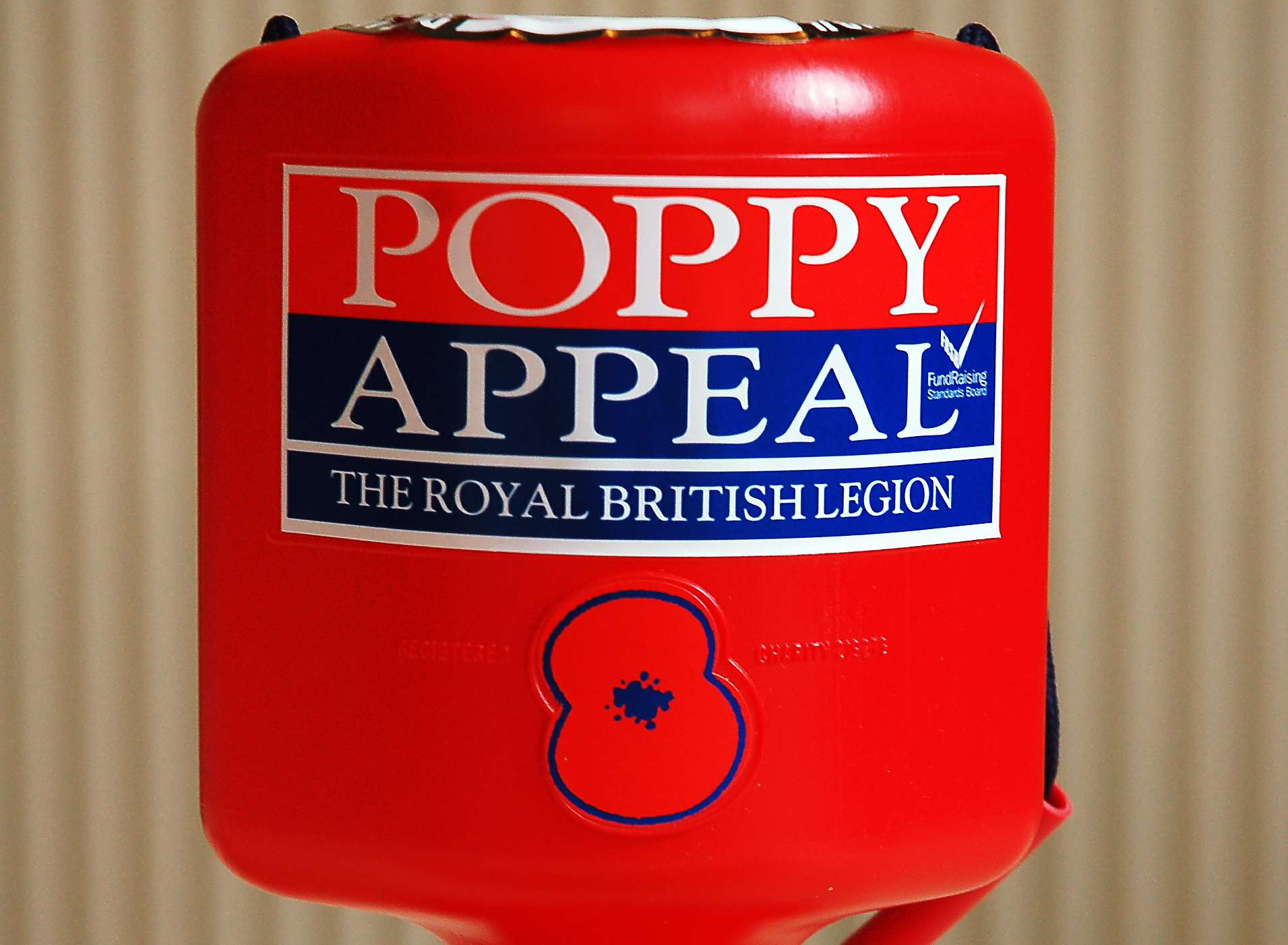 The money was meant to go towards the Poppy Appeal