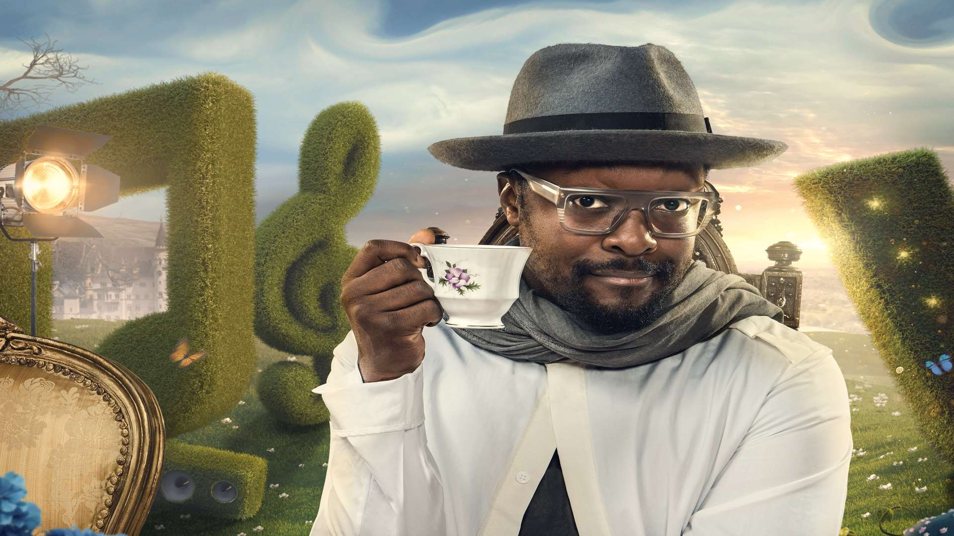 Will.i.am was flying to New York