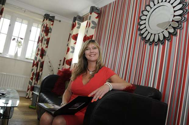Interior designer Bethany Rossiter from Herne Common stars in Sarah