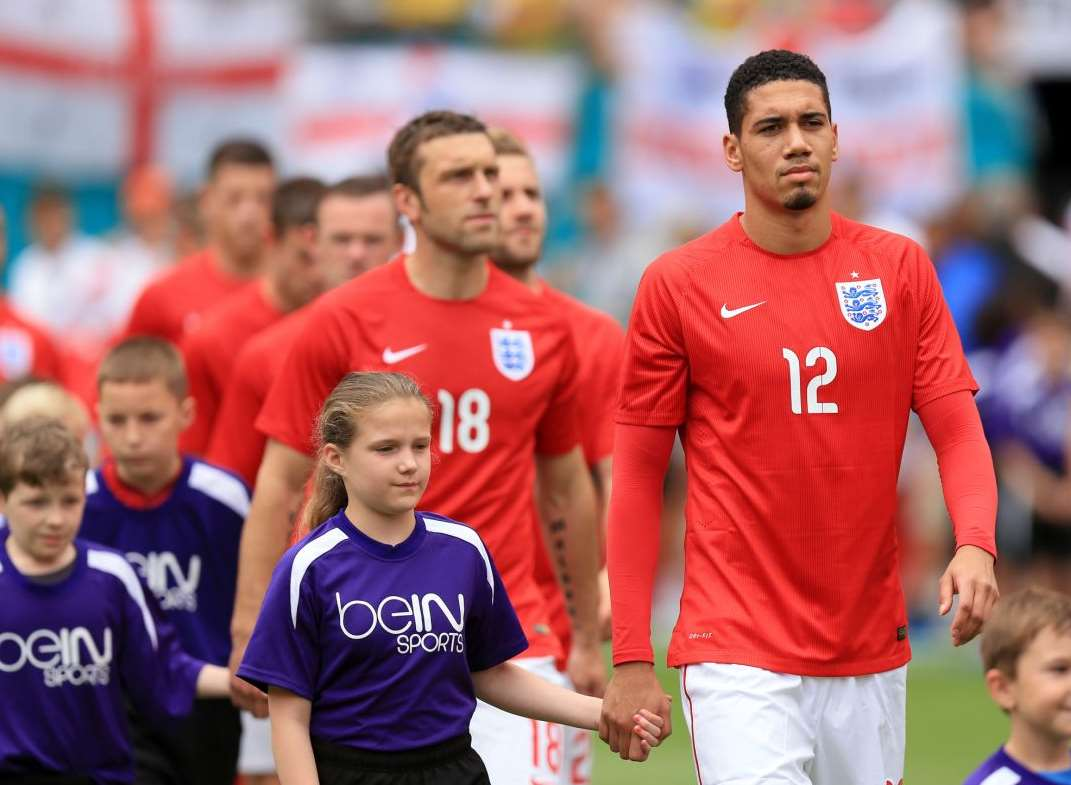 Former Chatham schoolboy Chris Smalling is in the England World Cup squad Picture: Mike Egerton / PA Images