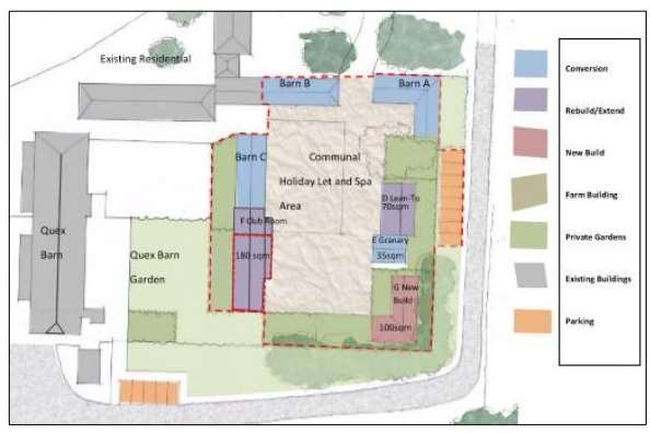 The proposed layout of the site.Pic: Planning application