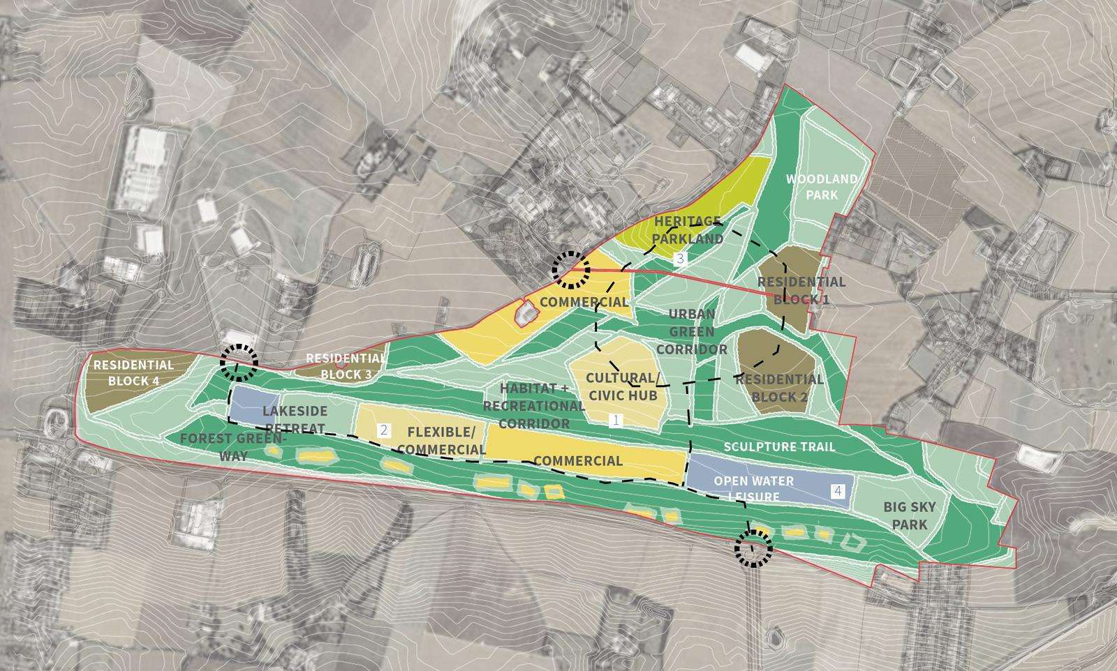 How the former Manston airport site could look