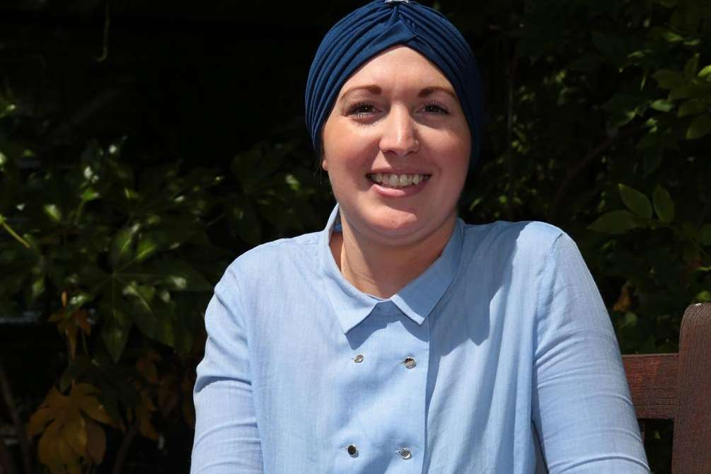 Hayley Martin, who is having treatment for terminal cancer