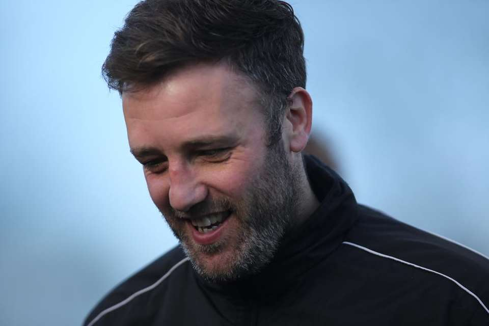 Maidstone boss Jay Saunders Picture: Martin Apps