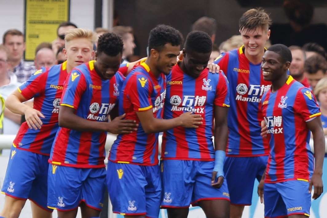 But Palace ran out 3-1 winners Picture: Andy Jones