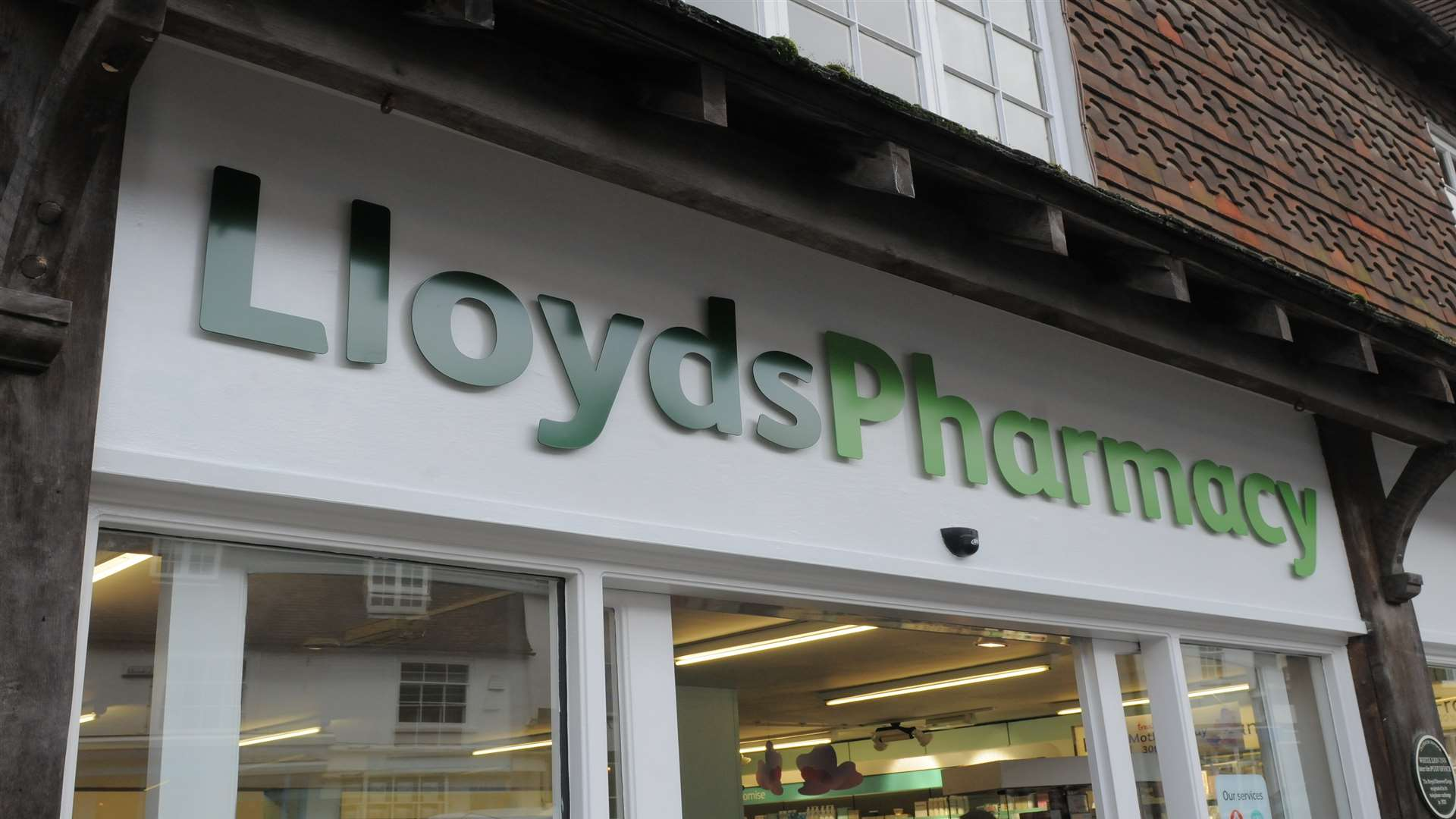 Lloyds Pharmacy, High Street, Cranbrook