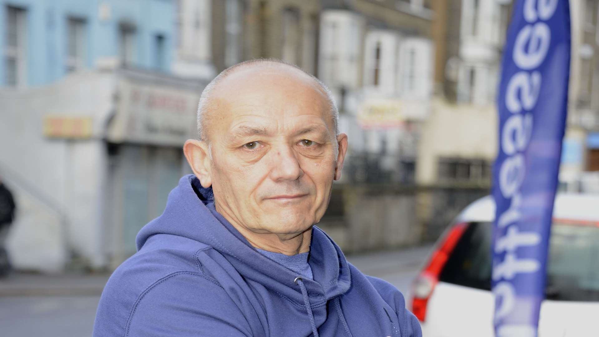 Paul Pearson - says drivers of foreign-registered cars can more easily avoid parking fines