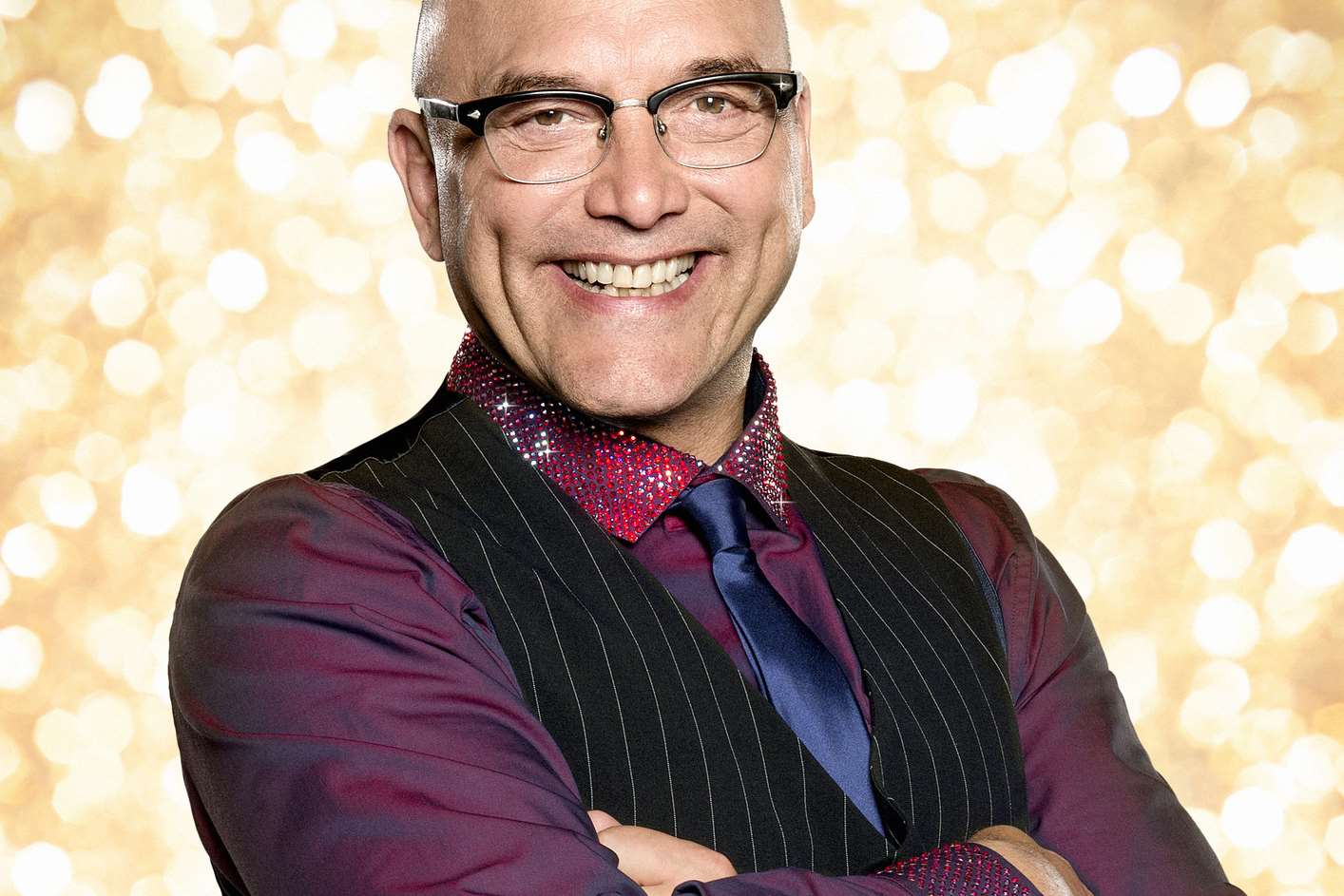 Whitstable-based chef Gregg Wallace is appearing on Strictly Come Dancing. Picture: BBC/RayBurmiston