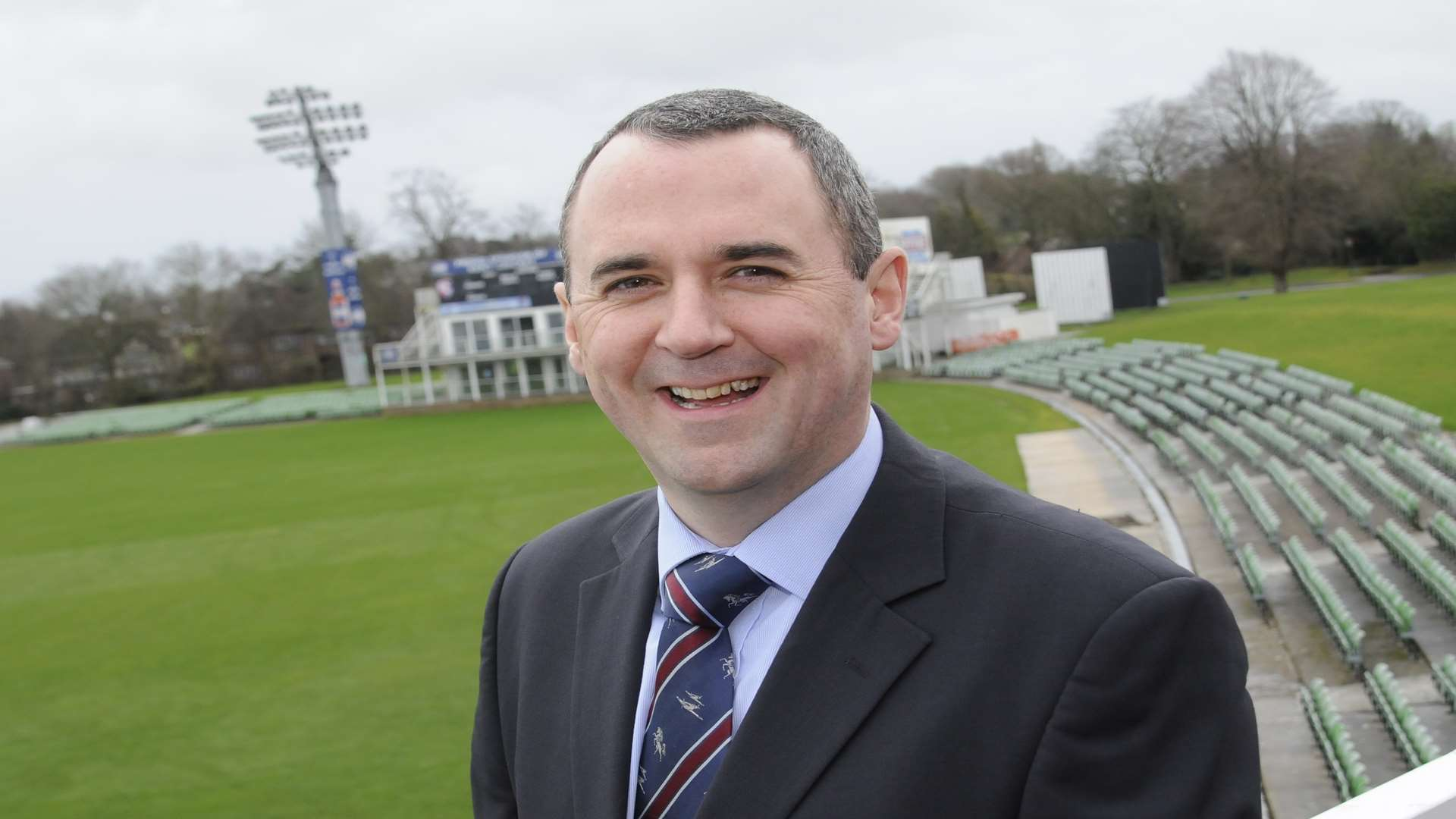 Interim chief executive of Kent Cricket Ben Green. Picture: Gary Browne