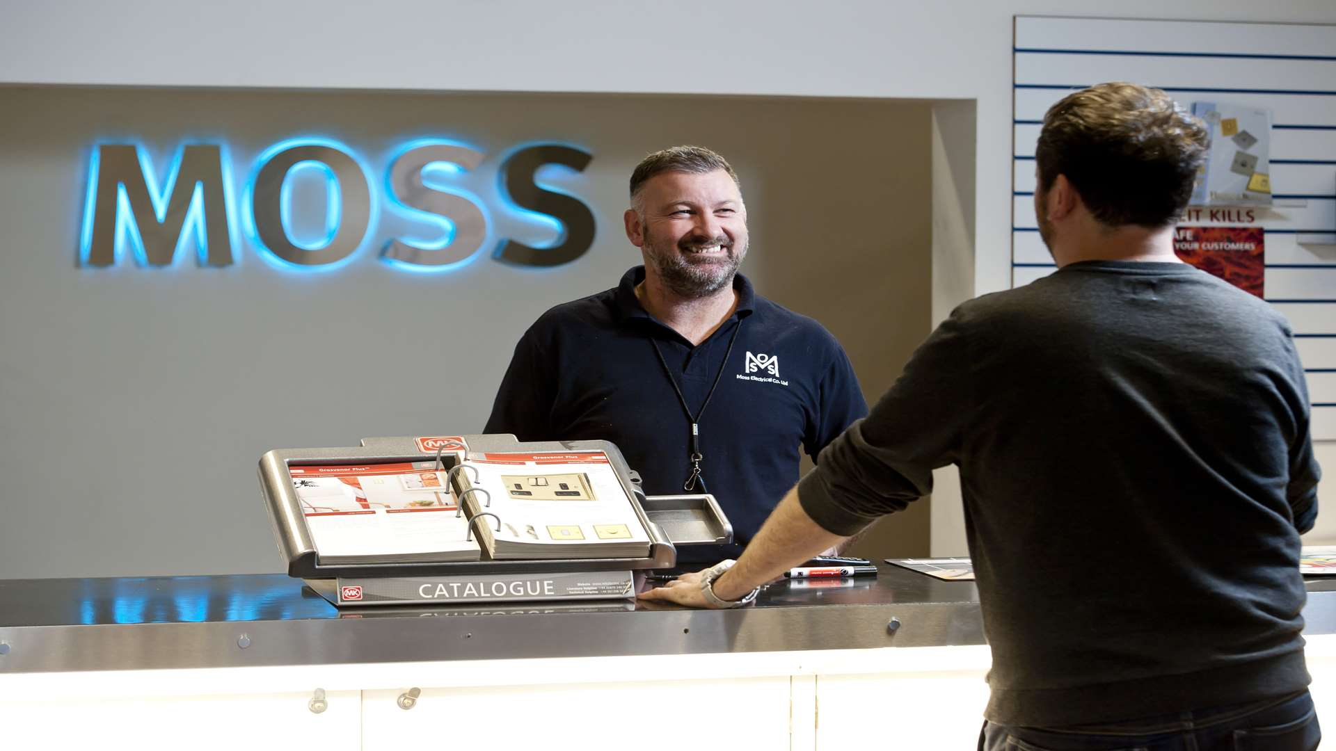 Moss Electrical is based in Dartford