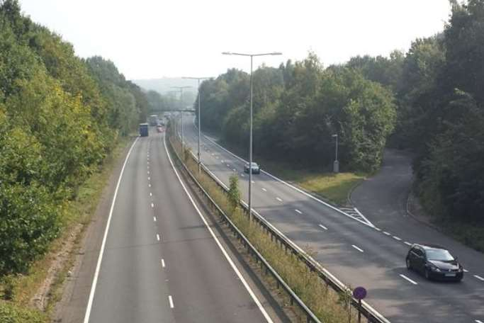 The A2 at Dunkirk. File image