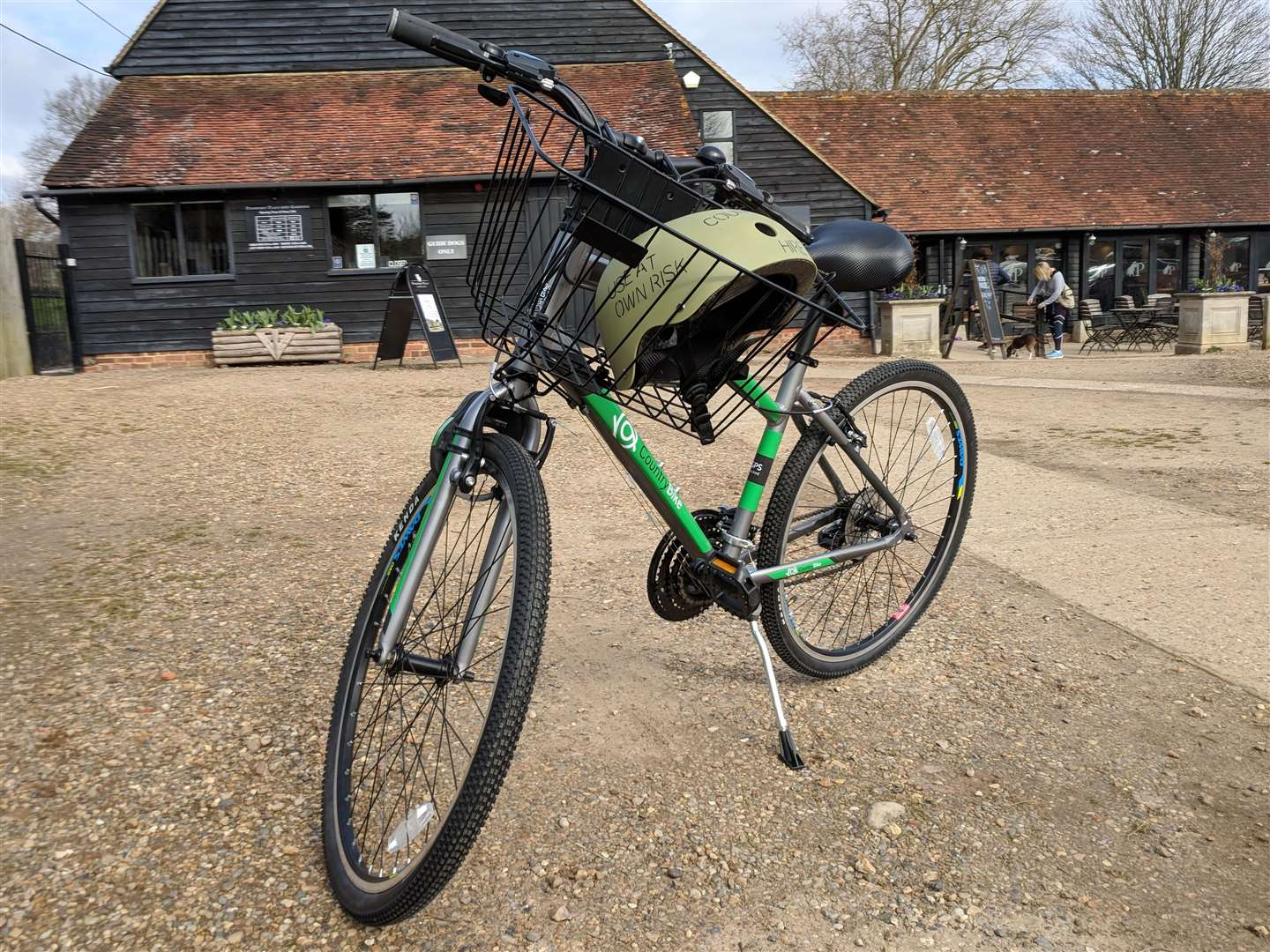 CountryBike has cycles to hire at Penshurst Place