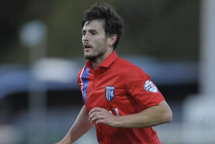 Aaron Morris in action for the Gills Picture: Ady Kerry