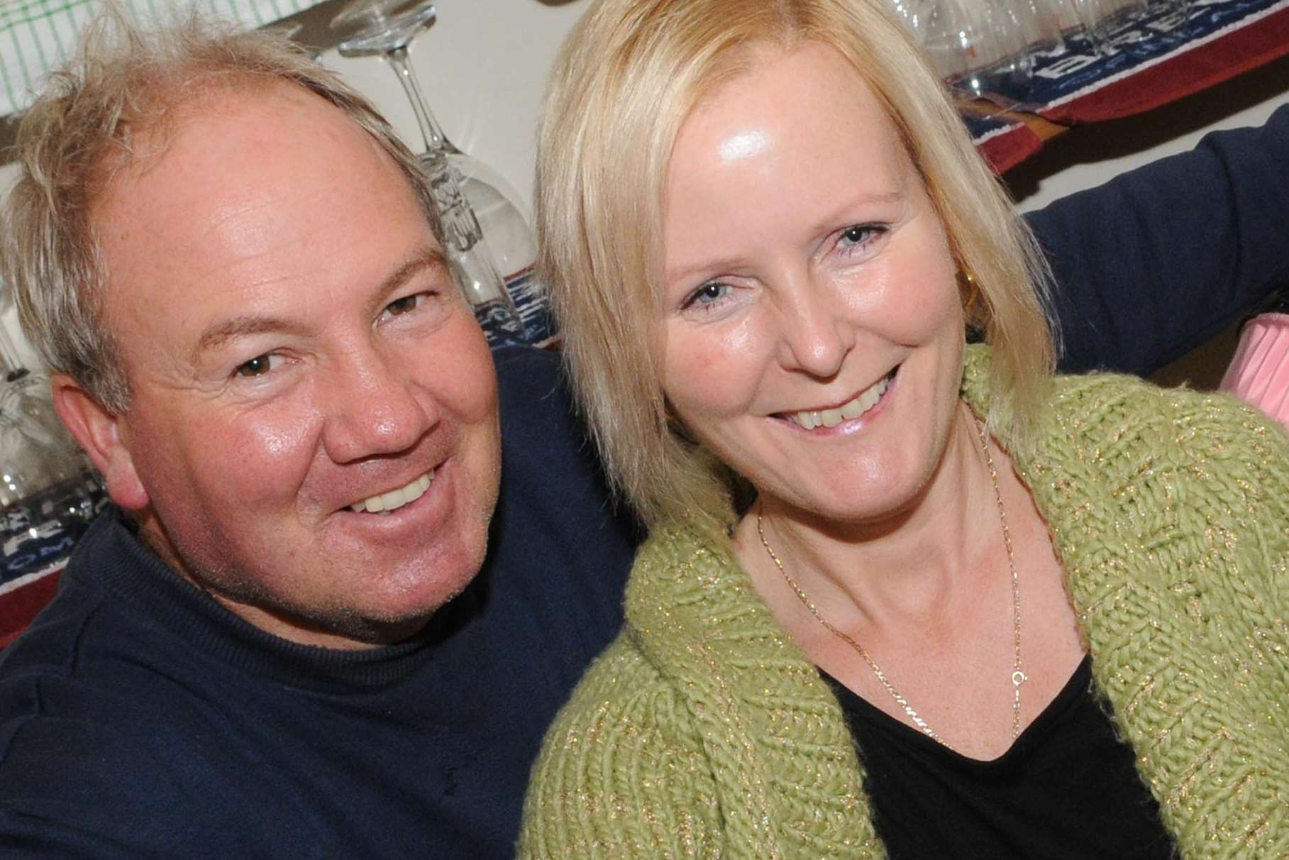 Couple Anne-Marie and Lee Birch at the opening of the Westgate micropub. Picture: Wayne McCabe