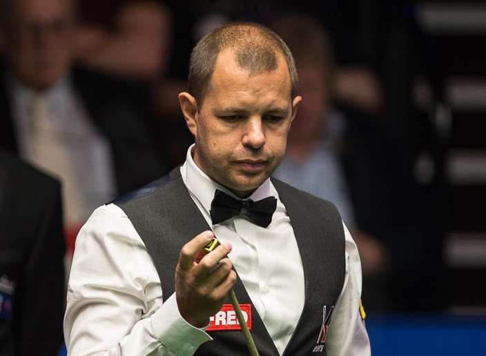 Barry Hawkins. Picture: World Snooker