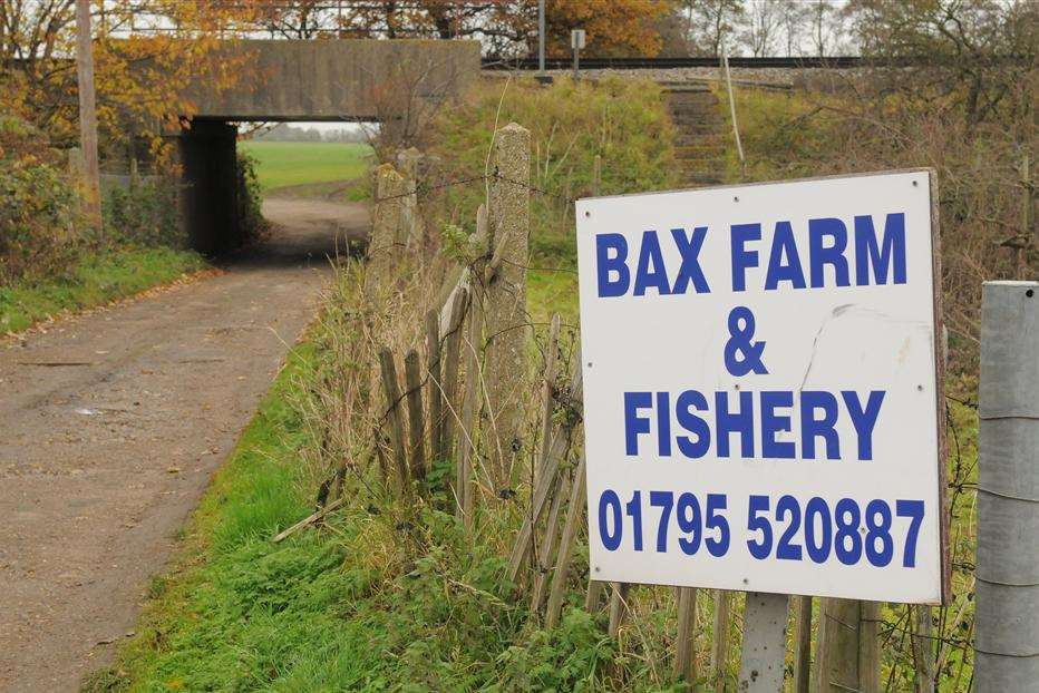 Bax Farm and Fishery in Lower Road, Tonge