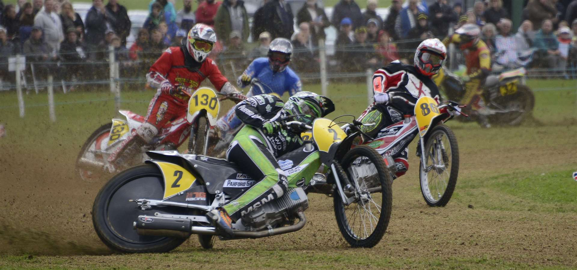 Many of Europe's leading grasstrack riders will be at Swingfield this weekend Picture: Paul Amos