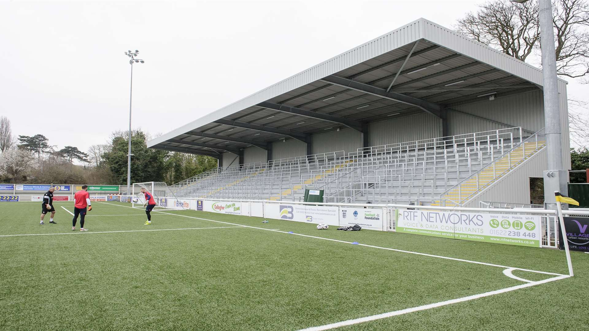 The new North Stand at the Gallagher Stadium Picture: Andy Payton