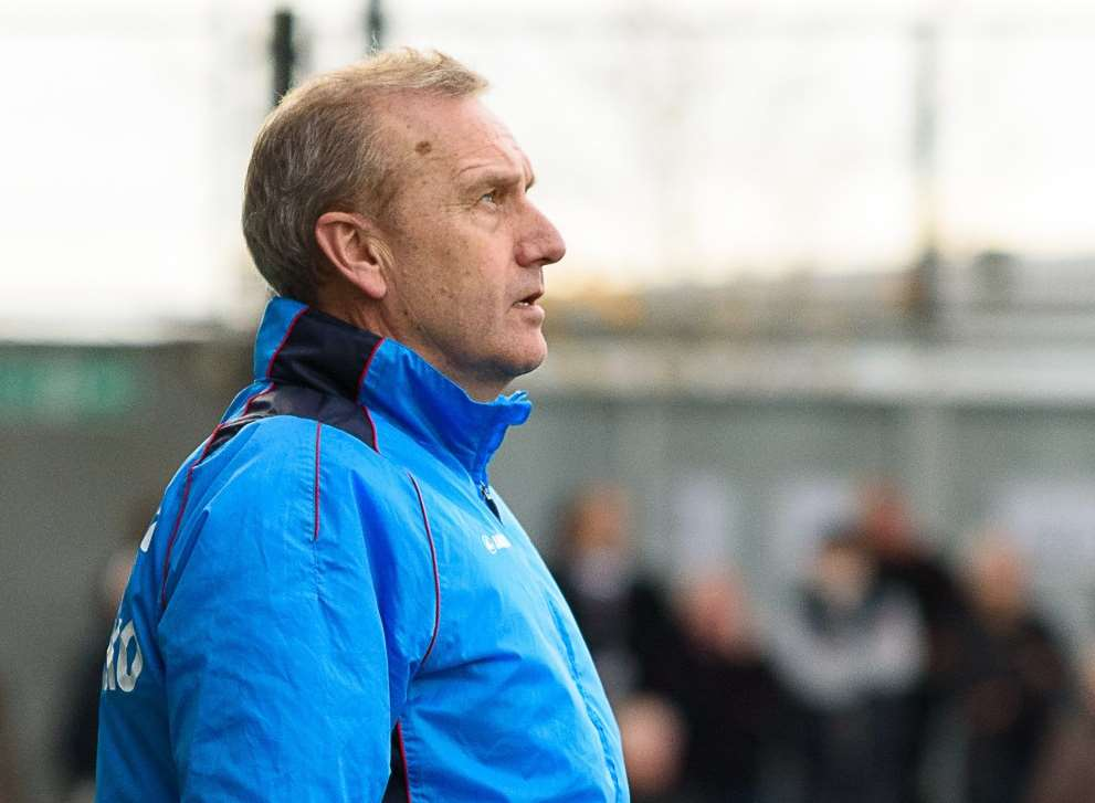 Dartford manager Tony Burman Picture: Terry Jones