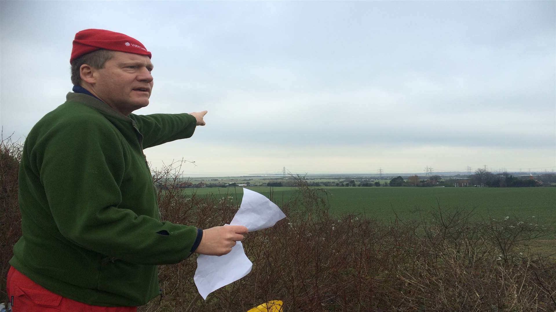MP Adam Holloway looks at the route Option C would take