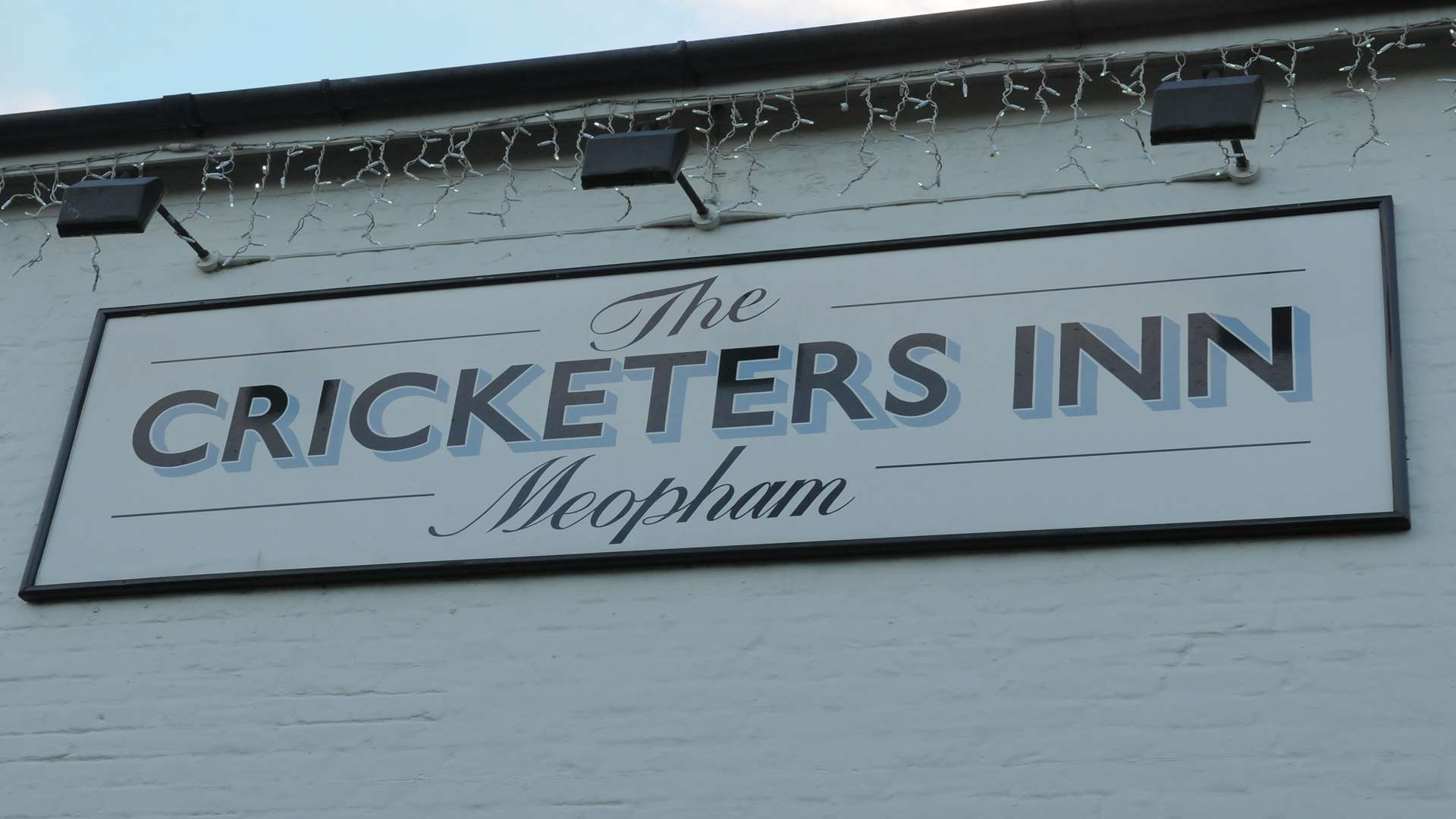 The Cricketers Inn in Meopham is a Whiting & Hammond pub
