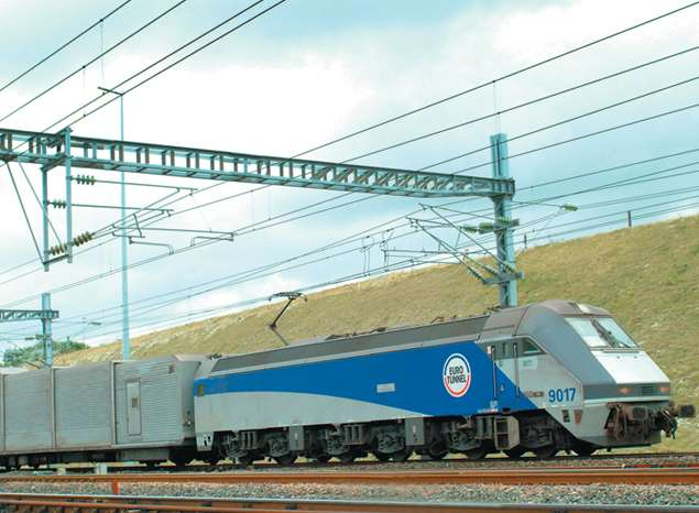Eurotunnel services from Folkestone to France
