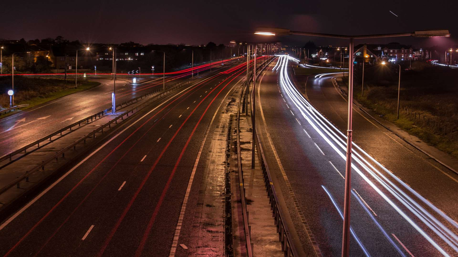 The Thanet Way was shut last night. Stock picture: Adrian Bennett