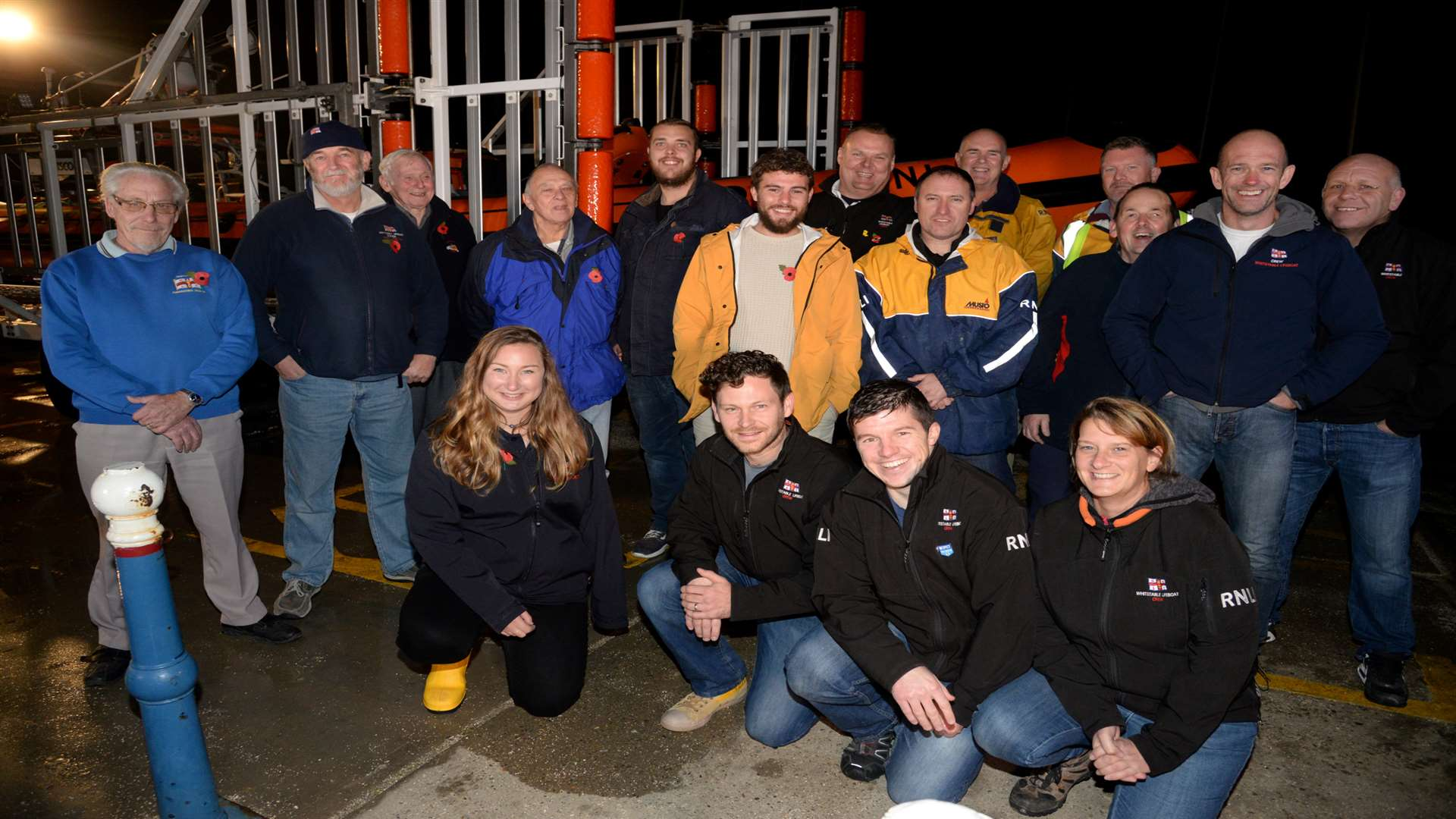 Alex visited more than 200 lifeboat stations