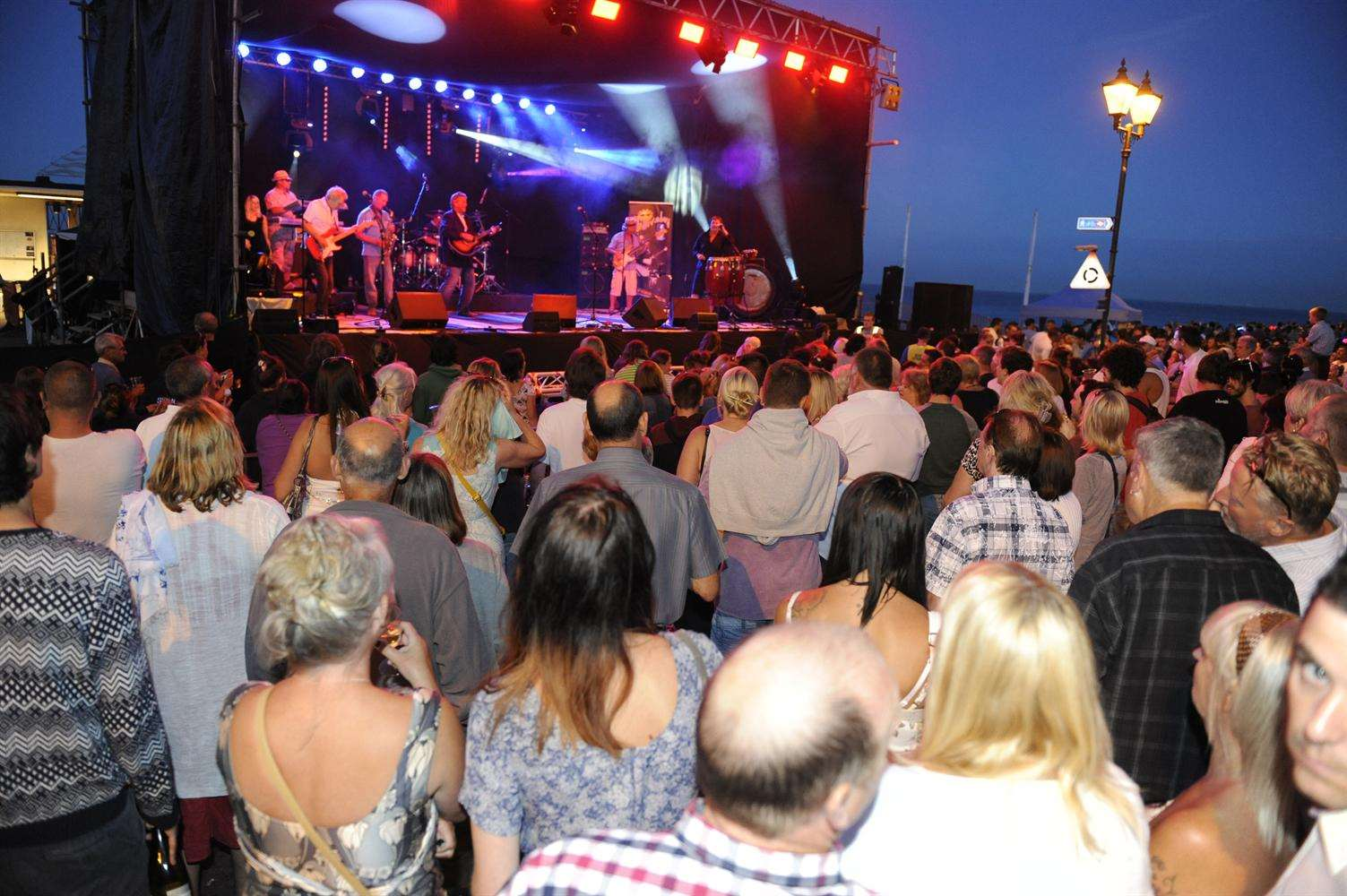 The Party on the Prom is always popular. This year The Kingsdown Band and Bad Penny will play
