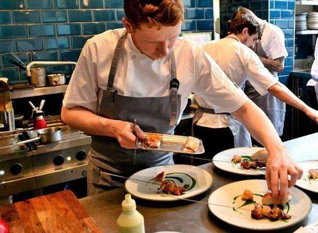 Head chef Dan Smith says the business is going from strenth to strength (2502973)