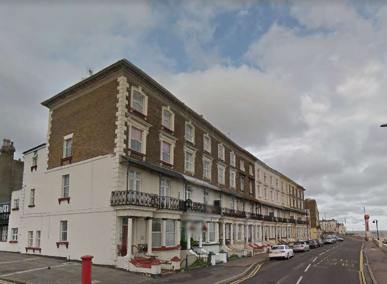 Ethelbert Terrace in Margate. Picture: Google Street View.