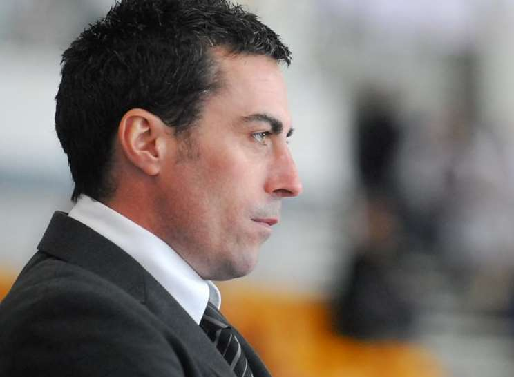 Invicta Dynamos coach Kevin Parrish Picture: Andy Mason
