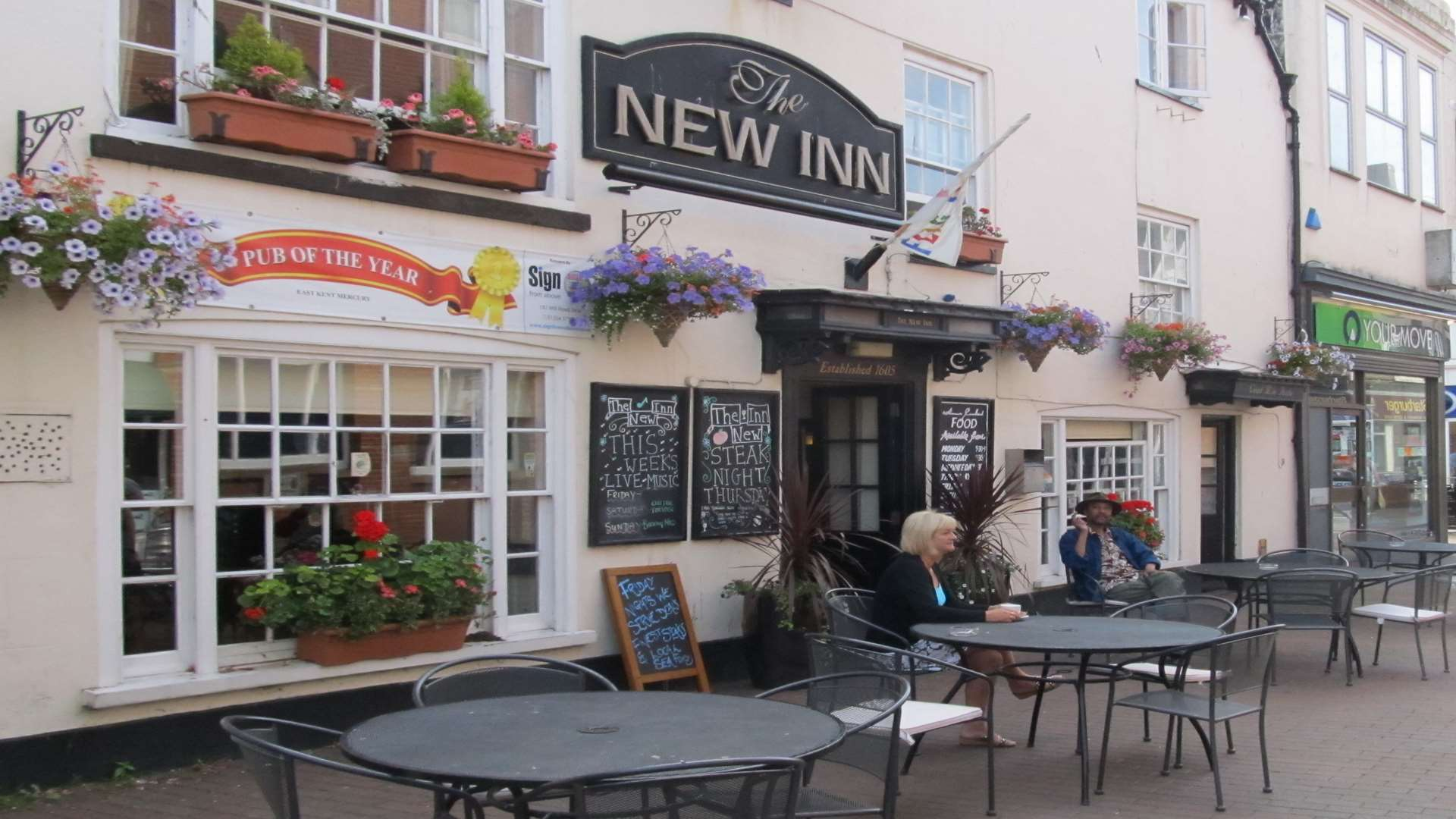 At least 10 people became ill after eating at the New Inn in September 2016