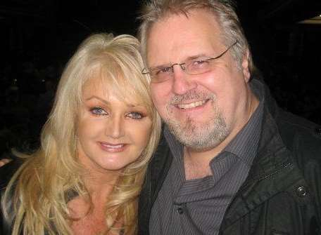 Anthony Wade with singer Bonnie Tyler