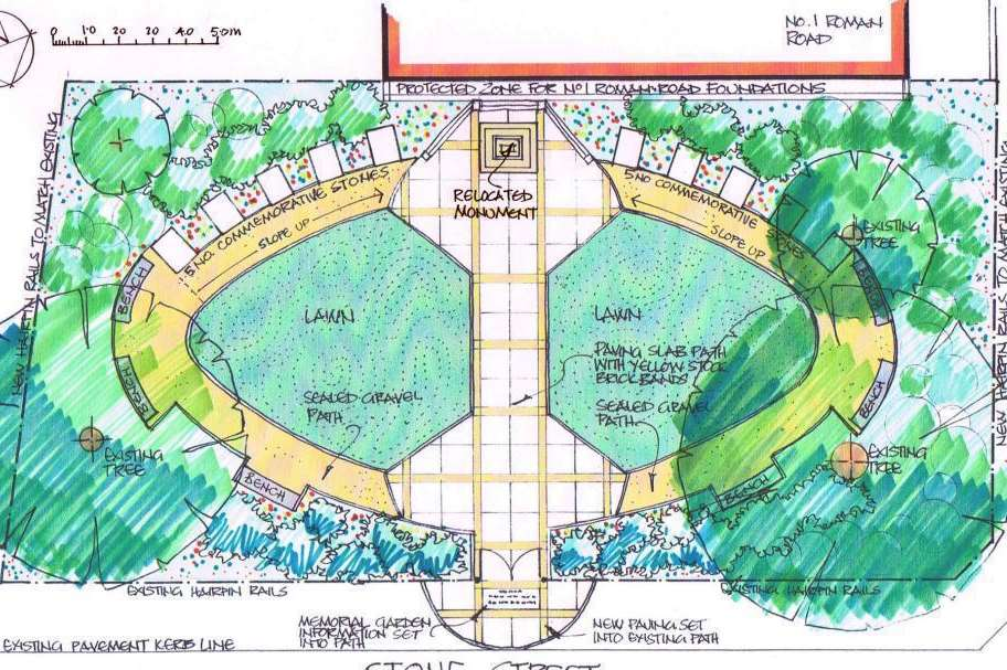 Faversham: Planning application submitted for memorial garden