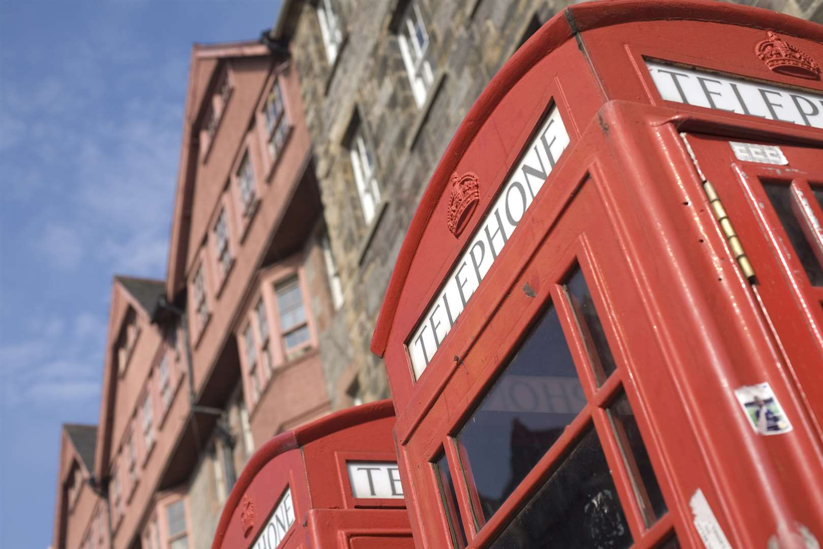 The red phone-box has become a tourist favourite. Picture: GettyImages
