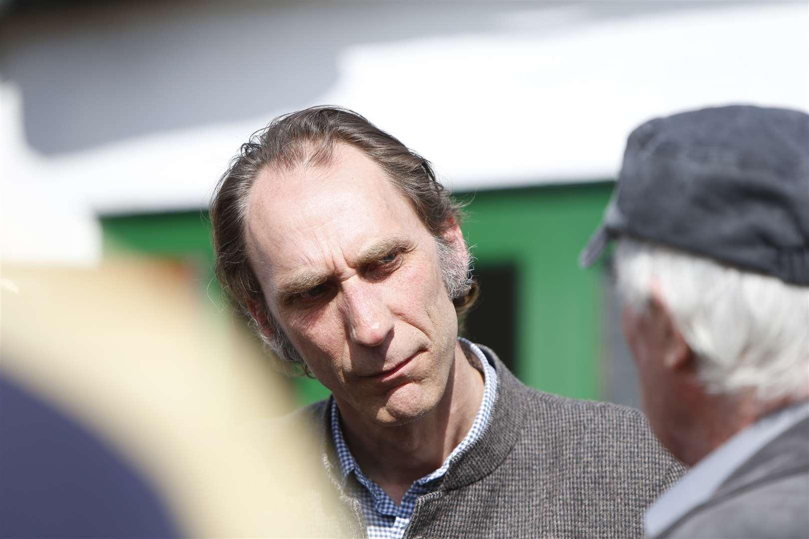 Novelist and commentator Will Self at the birthday bash