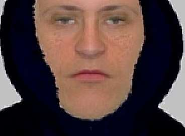 Police released this e-fit image of a man they want to speak to