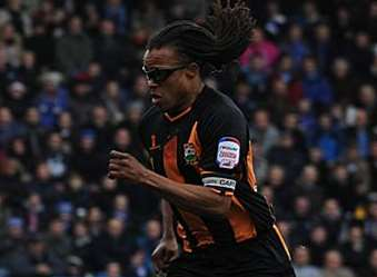 Edgar Davids in action for Barnet Picture: Barry Goodwin