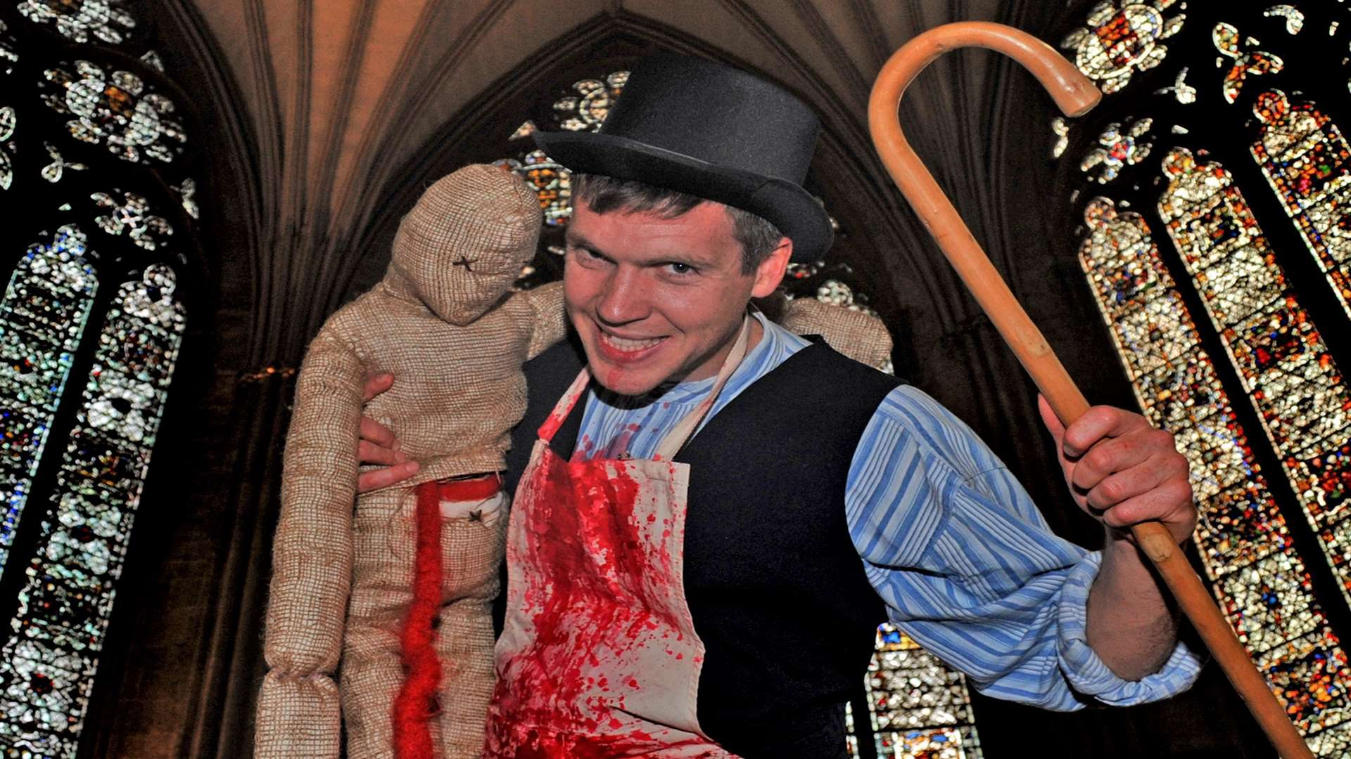 Doctor Death, coming to the Canterbury Festival