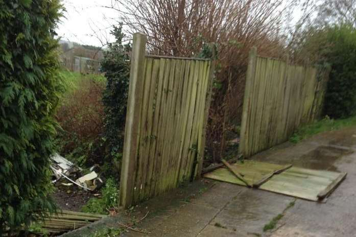 The shortage has left people unable to replace garden fences