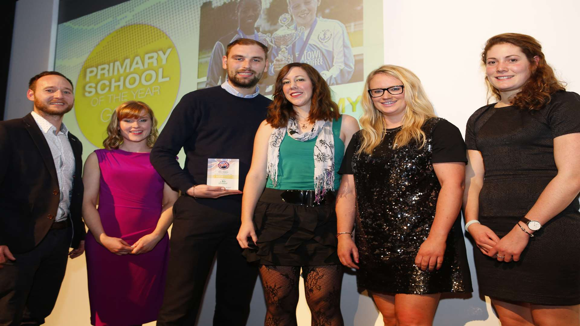 Primary School Team of the Year - Delce Academy. Picture: Andy Jones