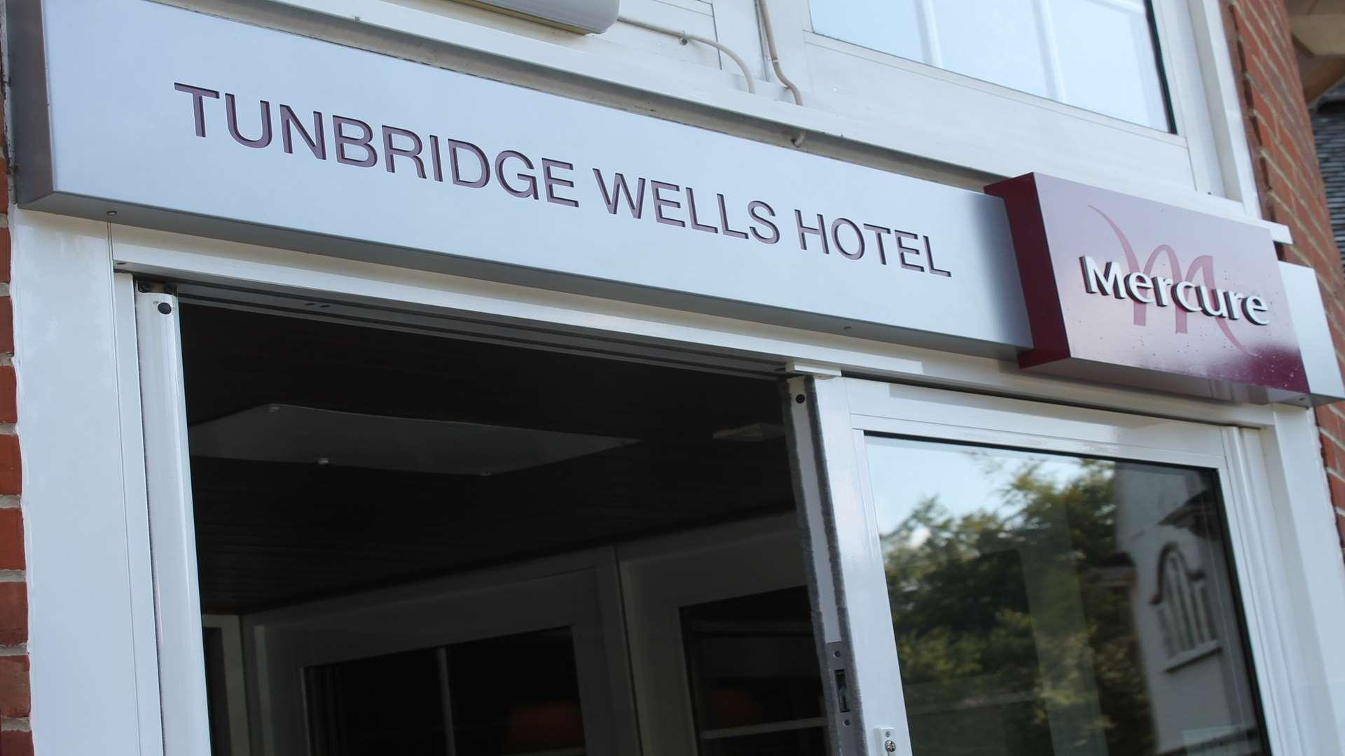 Tunbridge Wells Hotel Room