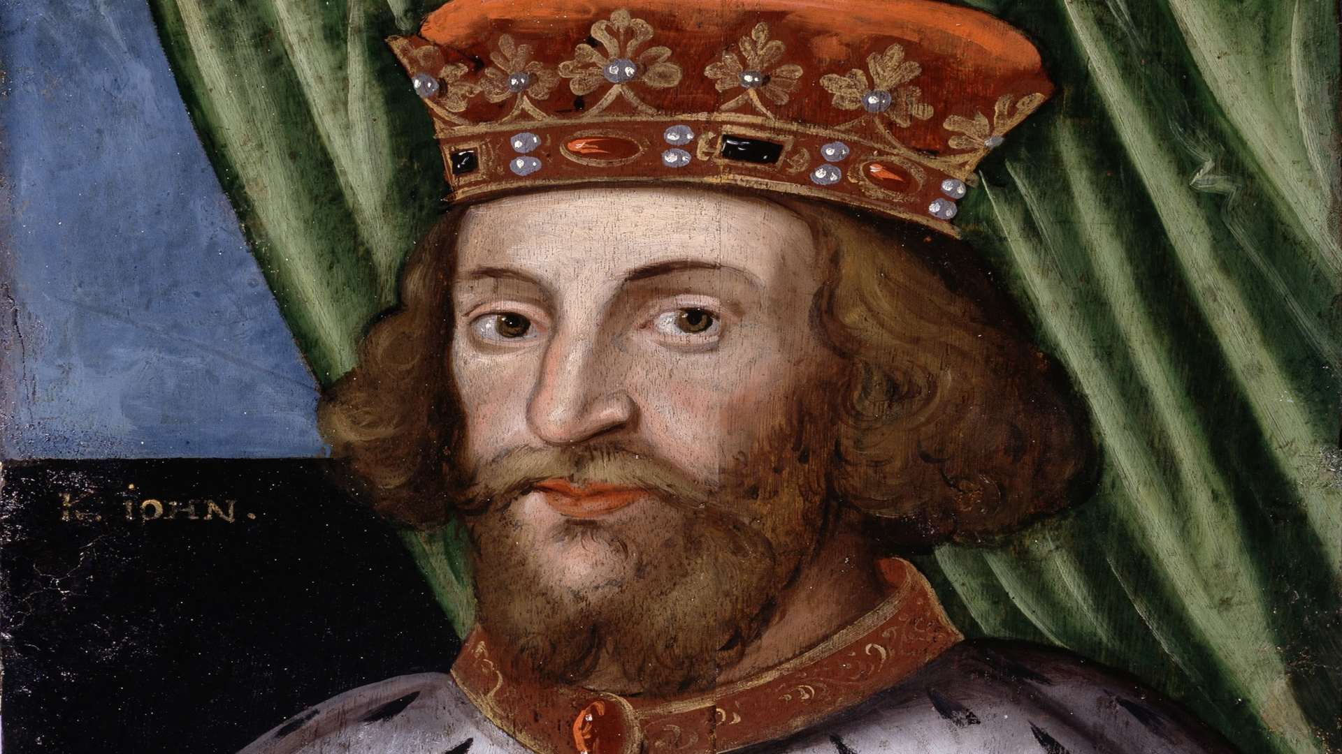 King John, who signed the Magna Carta in 1215